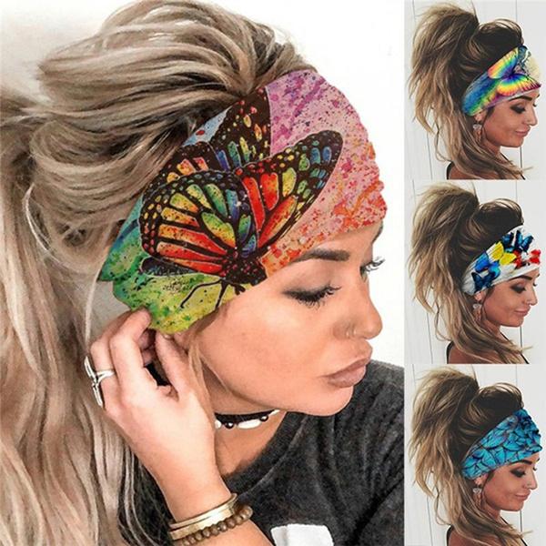Fashion, Yoga, Head Bands, Elastic