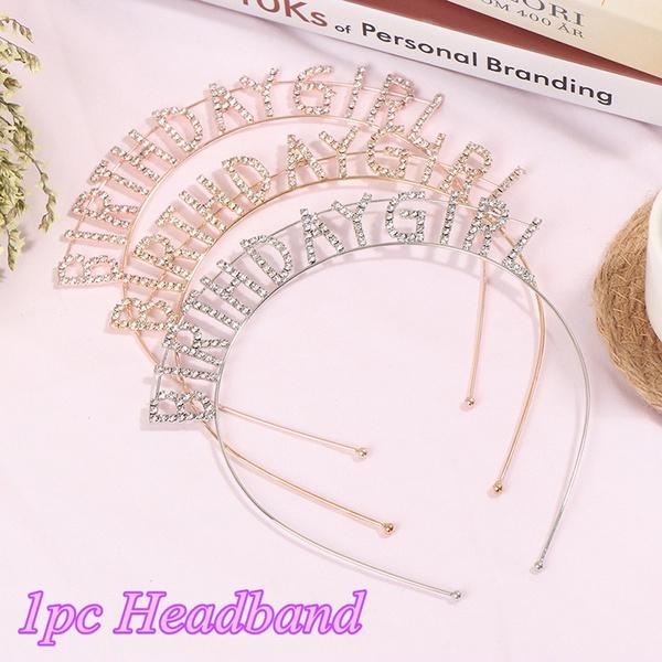 crownhairhoop, birthdayheadhoop, crystalhairband, Princess