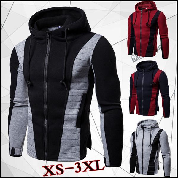 Casual Jackets, cottonjacket, hooded, sportsjacket