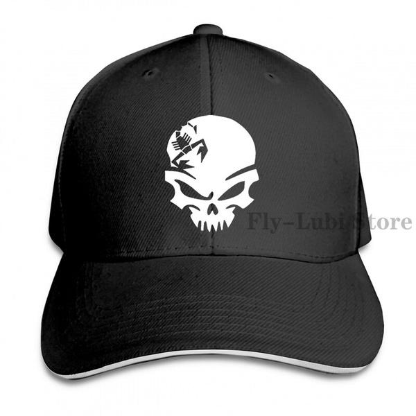 Polyester, Adjustable, skull, unisex