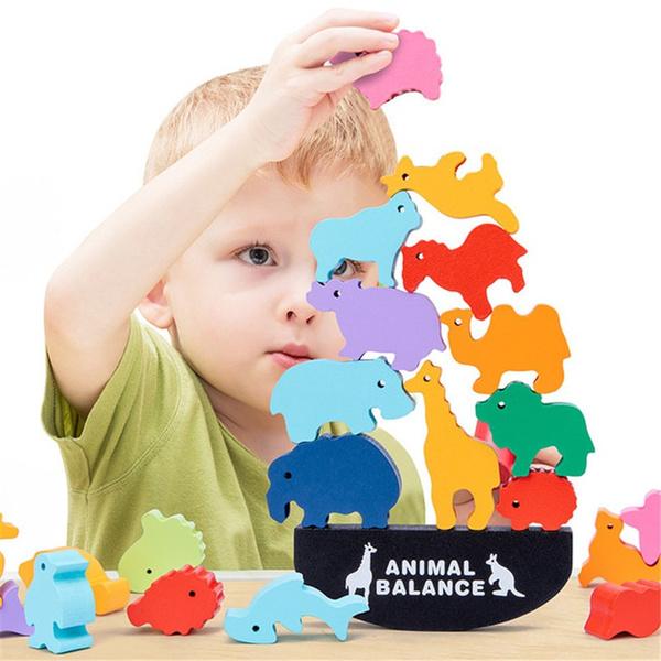 Wood, balanceblock, balancingblock, Dinosaur