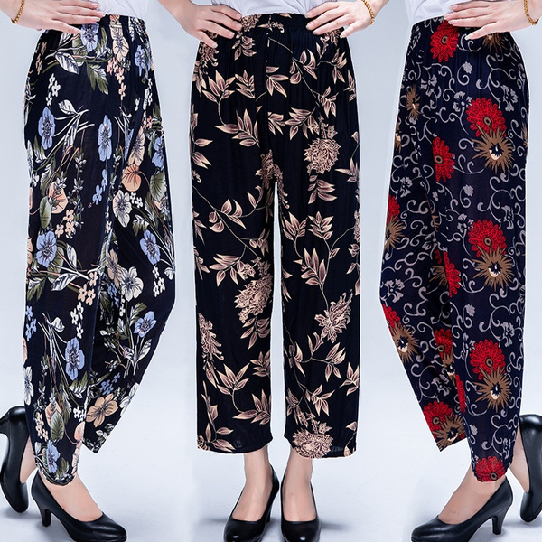 Summer, Leggings, Fashion, Floral print