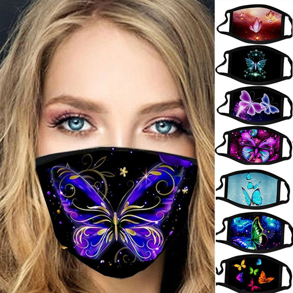 butterfly, butterflyprint, womenmask, cute