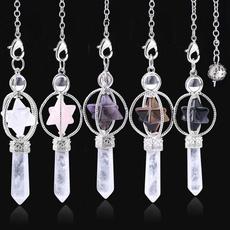 pink, quartz, Jewelry, pendulum