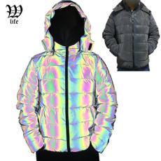 Jacket, Cotton, Holographic, menscottonclothing