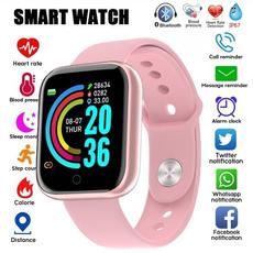 Heart, Wristbands, Waterproof, Watch