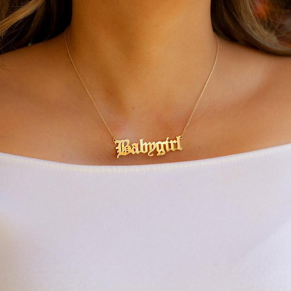 clavicle  chain, Jewelry, gold, babygirlnecklace