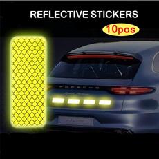 Electric, doorsticker, warningsticker, reflectivesticker