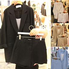 Two-Piece Suits, Loose, Women's Fashion, V-neck