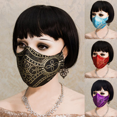 cottonfacemask, Funny, mouthmask, gothicfacemask