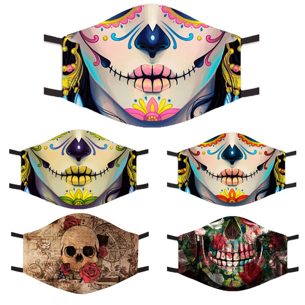 Fashion, dustmask, skull, Masks