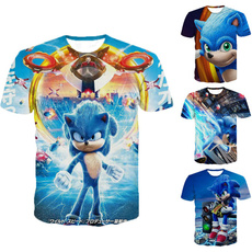 Summer, Fashion, Shirt, roundneckshirt