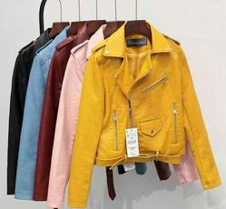 Fashion, punk, PU, leather