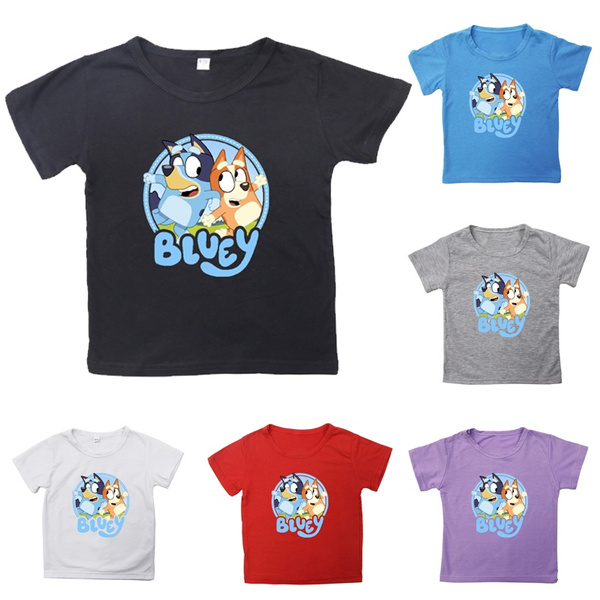 cute, Fashion, Cotton T Shirt, bingoblueytop