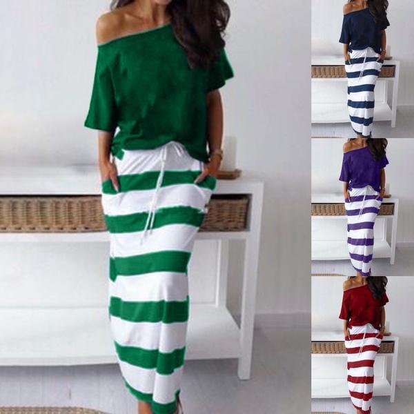 blouse, long skirt, Shorts, Sleeve