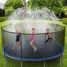 trampolinesprinkler, Summer, Toy, trampoline