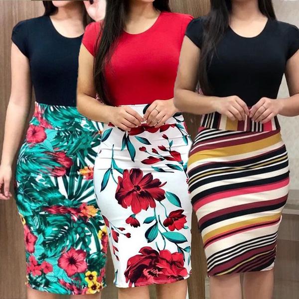 Summer, Shorts, short dress, womenbodycon