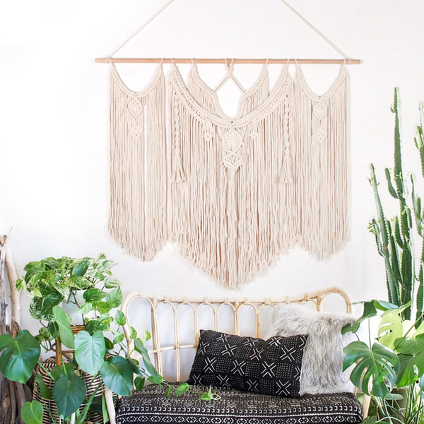 Rope, Cotton, Wall Art, Home & Living