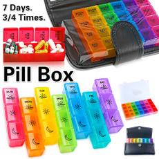 case, Box, 7daypillboxorganizer, pillholder