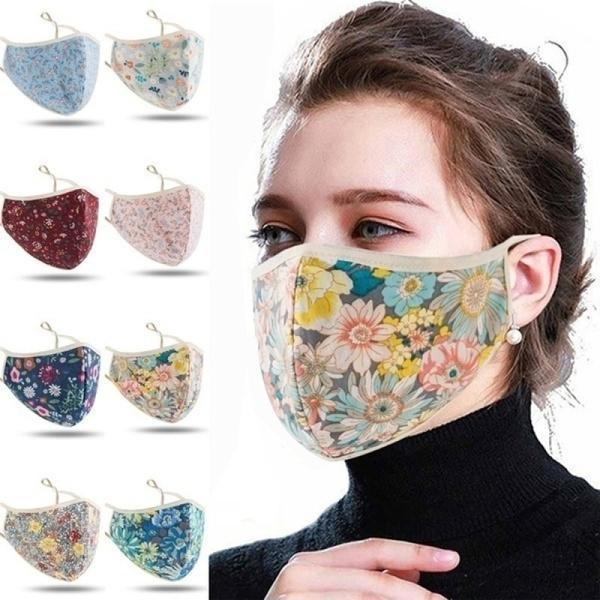 Cotton, resuablemask, mouthmask, beautifulmask