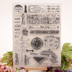 diarydecoration, siliconestamp, rubberstamp, stampgift
