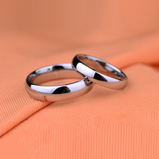 Couple Rings, Steel, wedding ring, Simple
