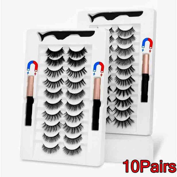 Eyelashes, False Eyelashes, eye, magneticeyelash