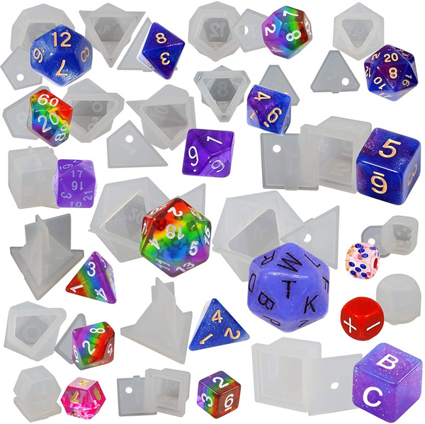 Triangles, Dice, Silicone, Craft Kits