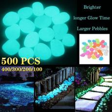 Decor, Garden, Glow, fluorescentstone