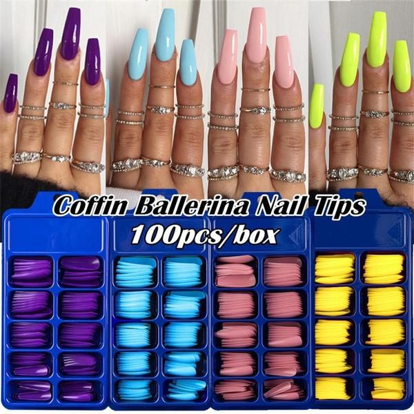 acrylic nails, uv, nail tips, manicure