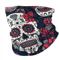 Fashion, Necks, skull, unisex