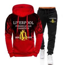 Fashion, pullover hoodie, Sleeve, soccerfanhoodie