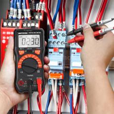 Flashlight, tester, digitalmultimeter, Multimeter