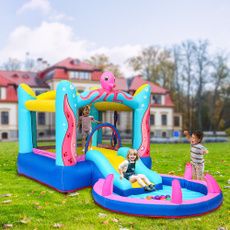 water, intexinflatablebouncehouse, bouncycastle, forbabie