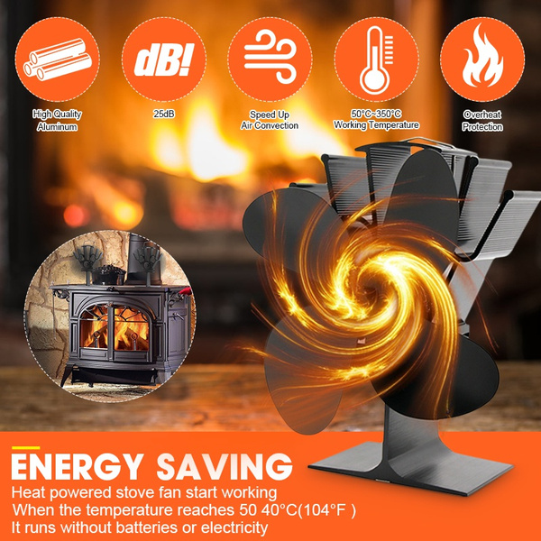 gadget, woodstovefan, Aluminum, stove