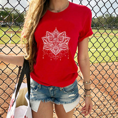 mandalashirt, Summer, Fashion, Cotton Shirt