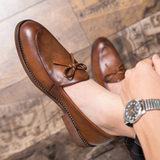 Flats & Oxfords, Tassels, mensbusinessshoe, casual leather shoes