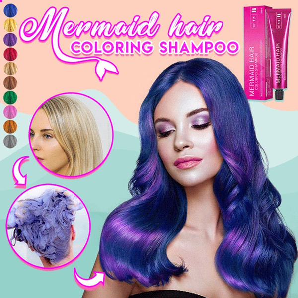 hair, haircoloringshampoo, Shampoo, mermaid