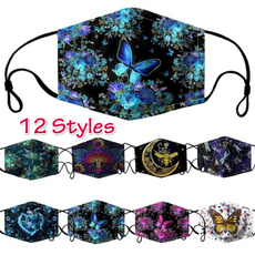 butterfly, Outdoor, mouthmask, unisex