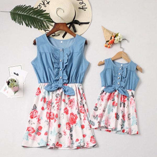 Mini, momdaughterdresse, babygirlsclothe, momanddaughtermatchingclothe