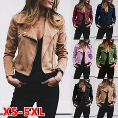 Casual Jackets, Plus Size, women coat, lapelcoat