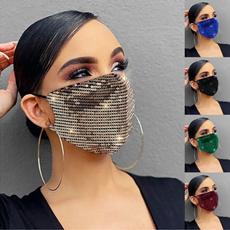 Fashion, dustmask, Outdoor Sports, sequinsmask