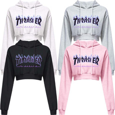 womencasualhoodie, Мода, shorthoodieforwomen, Рукав