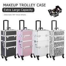 wheeltrolley, case, cosmetictrolley, Aluminum