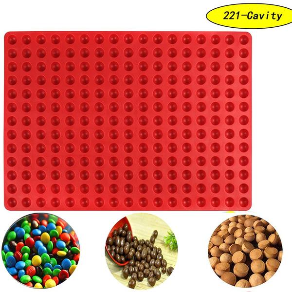 gummy, semi, sphere, cavity