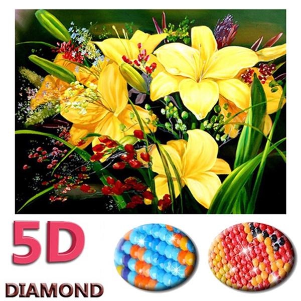 DIAMOND, Knitting, Jewelry, 5ddiamondpaintingkit