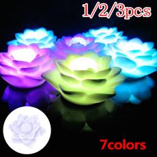 lotuslight, floatinglight, led, Garden