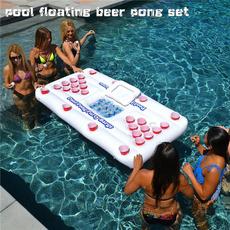 poolfloatingbeerpongset, inflatablefloatswimmingpool, poolparty, Cup