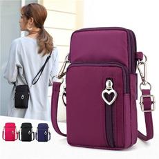 cellphone, minisportsbag, oxfordmessengerbag, flapbag
