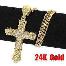 mens necklaces, Cross necklace, crucifixionnecklace, punk